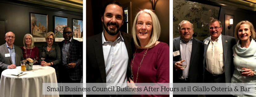 Small Business Council Business After Hours at il Giallo Osteria Bar